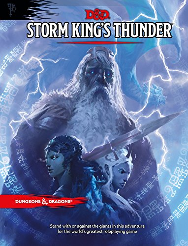 STORM KINGS THUNDER (Dungeons & Dragons) por Wizards RPG Team