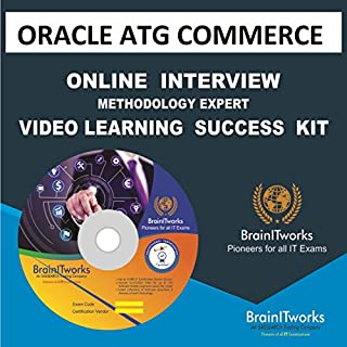 ORACLE ATG COMMERCE Online Interview video learning SUCCESS KIT