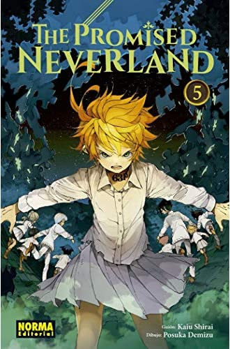 Descargar gratis The Promised Neverland 5 de Kaiu Shirai/