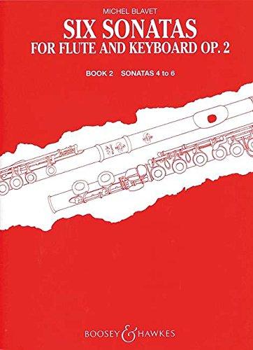 Sechs Sonaten: Band 2. op. 2/4-6. Flöte und Klavier. (Sechs Sonaten Für Zwei Flöten)