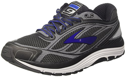 Brooks Dyad 9, Scarpe da Corsa Uomo Multicolore (Asphalt/Electric Brooks Blue/Black)
