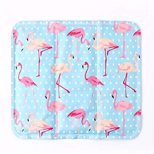chk Flamingo Sommer EIS Pad Büro Sitzpad Pet Cool Pad Kühlstuhl Pad Notebook Kühlpad 30X40cm -