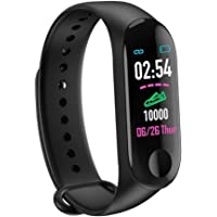 GadgetStore M3 Band M3 Smart Fitness Band with Activity Tracker/Waterproof Body/Calorie Counter/Blood Pressure Meter…