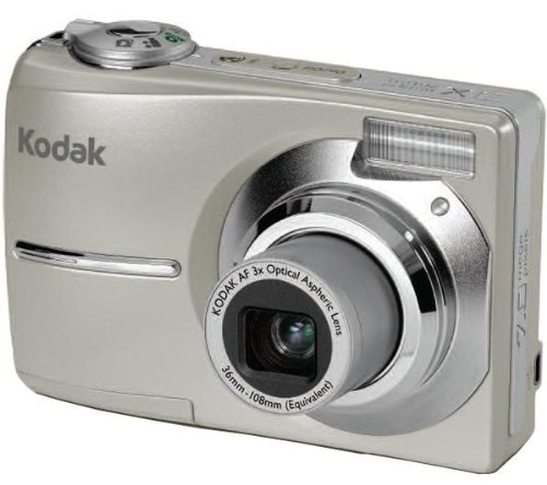 Kodak EASYSHARE C713 Digitalkamera (7 Megapixel, 3-fach opt. Zoom, 6,1 cm (2,4 Zoll) Display)