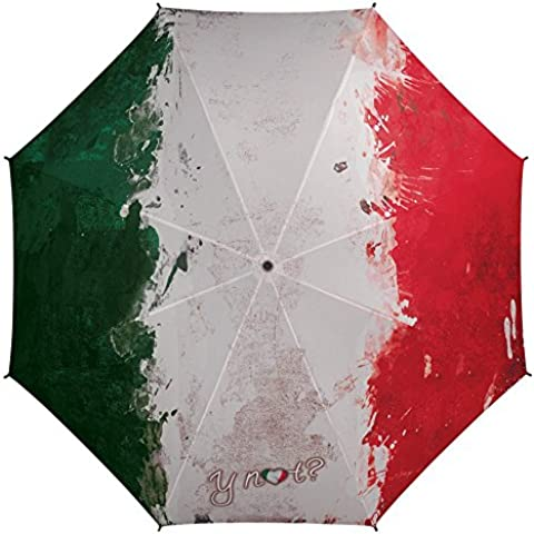 Y NOT OMBRELLO STAMPA FLAG PAINT ITALY