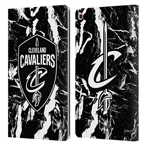 Head Case Designs Offizielle NBA Marmor 2019/20 Cleveland Cavaliers Leder Brieftaschen Huelle kompatibel mit Samsung Galaxy Tab A 10.1 2019 -