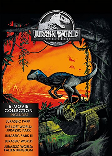 Jurassic World: 5-Movie Collection (5 Dvd) [Edizione: Stati Uniti] [Italy]