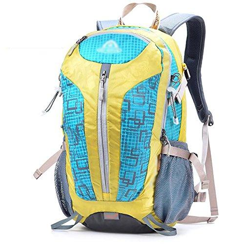 HWLXBB Outdoor Bergsteigen Tasche Man And Lady Mehrzweck-Bergsteigen Tasche Wandern Camping Bergsteigen Rucksack 8*