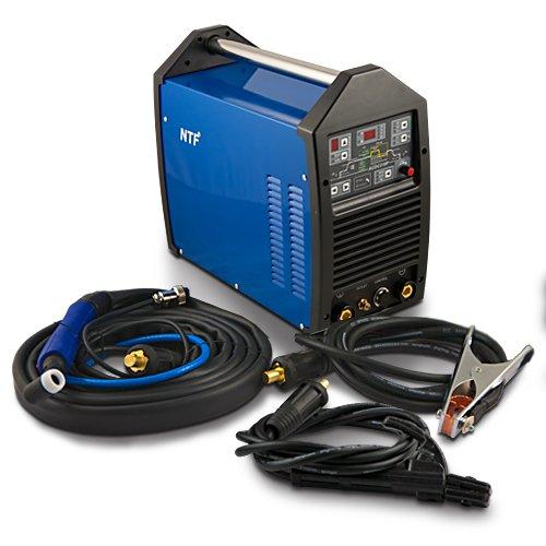 WIG TIG IGBT Inverter Schweißgerät NTF AC/DC TIG-210 Pulse HF + MMA TOP