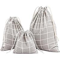 Gespout 3bolsas de tela, algodón, lino. Bolsitas con olor a lavanda para regalo, fiestas, cumpleaños
