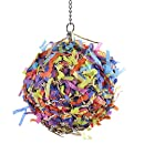 HappyBird Super Shredding Ball Bird Toy, L