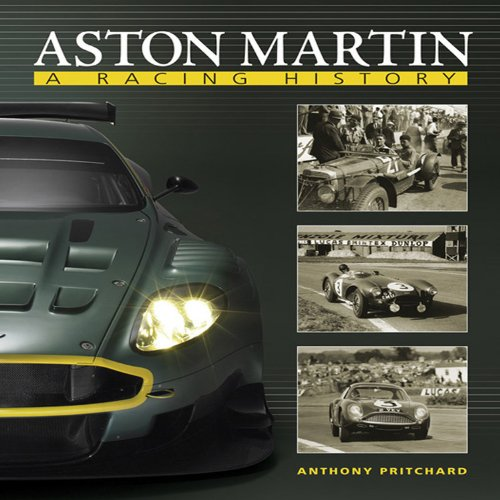 Aston Martin: A Racing History por Anthony Pritchard