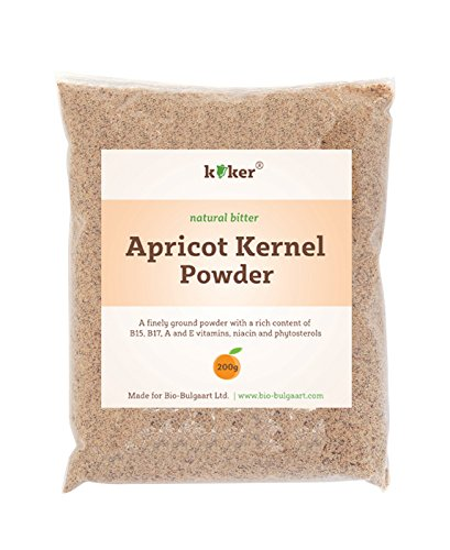 Apricot Kernel Protein Powder 200g Pack Finely Ground Apricot Kernel Powder Vit B15 B17 A E