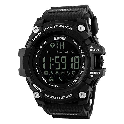 1385 SKMEI Premium Digital Sports Fitness Watch (Black)