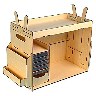 Artesania Latina 27648 - Werkzeugbox, Bausatz aus Holz, Werkzeuge