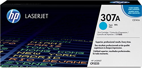 HP 307A (C741AE) Cyan Original Toner für HP Color Laserjet Pro CP5225