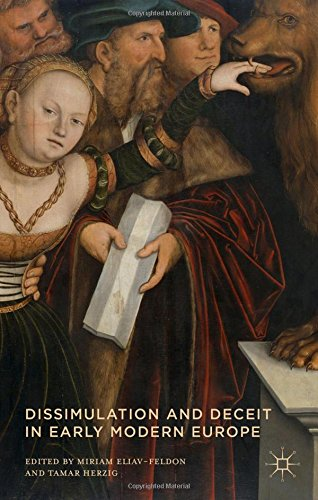 Dissimulation and Deceit in Early Modern Europe