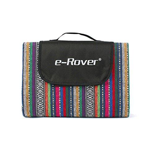 HM&DX Outdoor Wasserdicht Picknickdecken Handtaschen,Exotische Verdicken sie Moistureproof Tragbare Picknickdecke campingdecke Picknick-matte Für strandzelt park spiele-A 200x145cm(79x57inch)