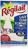 Régilait Lait Demi Ecrémé en Poudre 300 g Soit 2,7 L de Lait Liquide