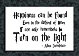 Tamatina Wall Poster - Quote of Albus Dumbledore - Harry Potter - HD Quality Movie Poster