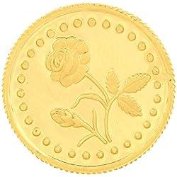 Malabar Gold and Diamonds 1 gm, 24k (999) Yellow Gold Precious Coin