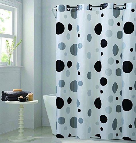 Arcs & Angles Bögen & Winkel rbh14fc244Retro Dot EZ auf Retro Dot Vorhang für die Dusche