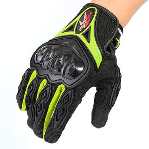 Preisvergleich Produktbild Motorradhandschuhe Touchscreen Warm Atmungsaktivität Hartschalen-Schutz Winddicht für Motorrad Radfahren Camping Outdoor