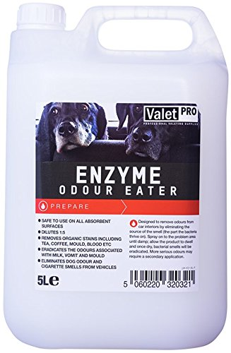Valet Pro Enzyme Car Fabric Odour Eater **Makes upto 5 Litres!! KILLS BAD SMELLS -