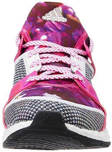 adidas Damen Pure Boost X TR W Laufschuhe Weiß / Schwarz / Pink (Ftwbla ...