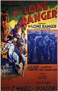 The Lone Ranger Affiche du film Poster Movie Le garde forestier solitaire (11 x 17 In - 28cm x 44cm) Style B