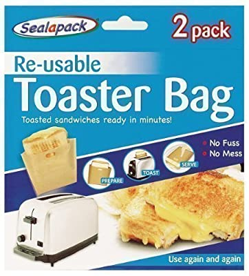 Pack of 2 Toasted Sandwich Bags