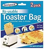 2er Pack wieder verwendbar Toaster Bag