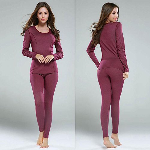 WY Abbigliamento Termico Ms. O Colletto Ultrasottile Mantieni Caldo ( Colore : Cremisi , dimensioni : XXL ) Cremisi