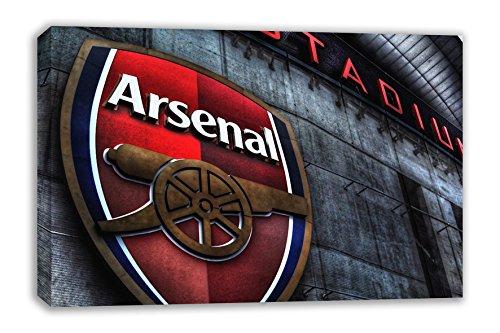 Dynamo Printing Ltd Arsenal FC Logo Die Emirates Stadium Canvas Art Wand (76,2x 45,7cm)