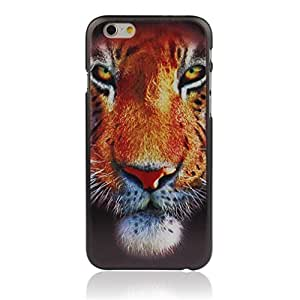 Generic Ferocious Tiger Hard Back Plastic Case Cover Skin for Iphone 6