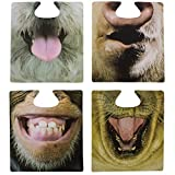 Funny Animal Table Coasters. 20 Individual Funny Mats by pal