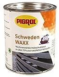 Pigrol Schweden Waxx 0,75L farblos Holzschutzlasur für den Innen- und Außenbereich