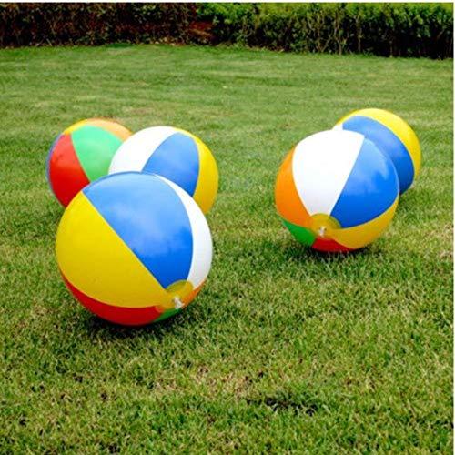 TOSSPER Swimming-Pool-Party Water Game aufblasbarer Ballon Strand Meer Bunte kreative Kugel Kinder-Spaß-Spielzeug