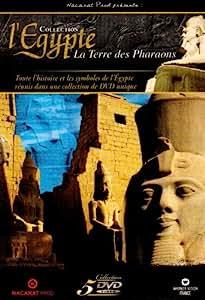 Coffret Egypte 5 DVD : L'Egypte, Terre des Pharaons, vol 1 à 4