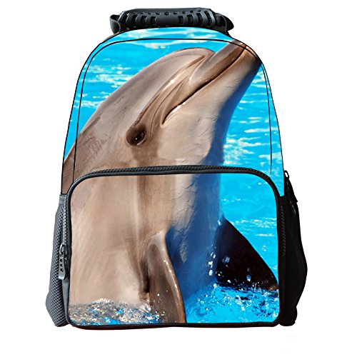 koson-man-3d-tier-niedliche-kinder-rucksack-laptop-dolphin-blau-kmukb44