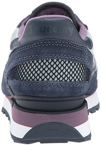 Saucony Shadow Original, Sneakers Basses Femme Grey Navy