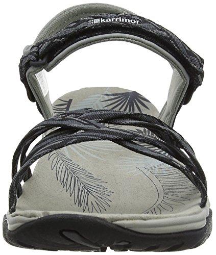 Karrimor Womens/Ladies Martinique III Summer Walking Sandals Schwarz (Black Pewter)