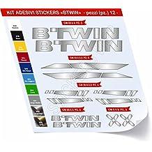 Pegatinas Bicicleta BTWIN _ Kit 2 _ Kit Pegatinas Stickers 12 piezas – Elige Subito colore