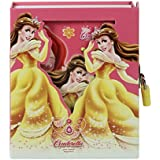Asera Princess Lock Diary for Girls Gifts Options (Small Size 16.5*13*3 cm) - Cindrella Pink Yellow