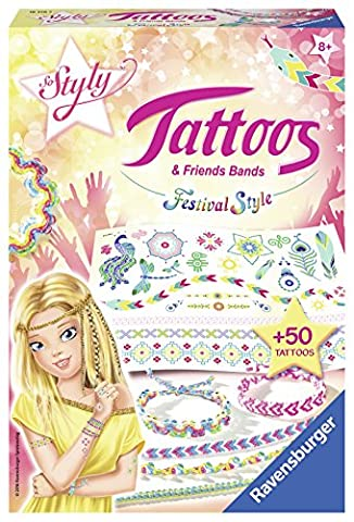 Ravensburger - 18319 - So Styly - Tatouages et Bracelets