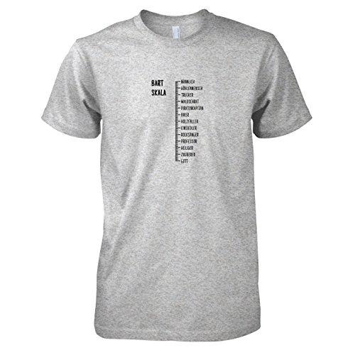 Herren T-Shirt, Größe XL, Graumeliert (Big Lebowski Kostüme)
