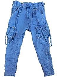 f5ac685ef11998 ITAIMASKA Damen Cargohose Militär Hosen Worktrousers Freizeithose HS3212