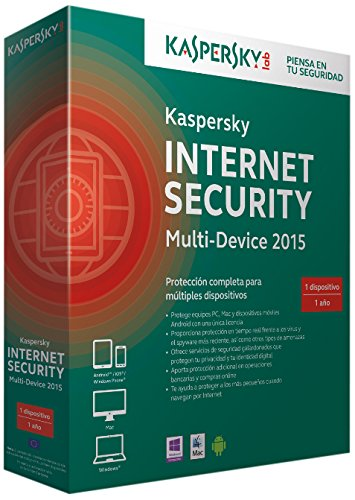 Kaspersky Internet Security Multi-Device 2015 - Software De Seguridad, 1 Usuario