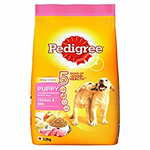 Pedigree Puppy Dog Food Chicken & Milk, 1.2 kg Pack