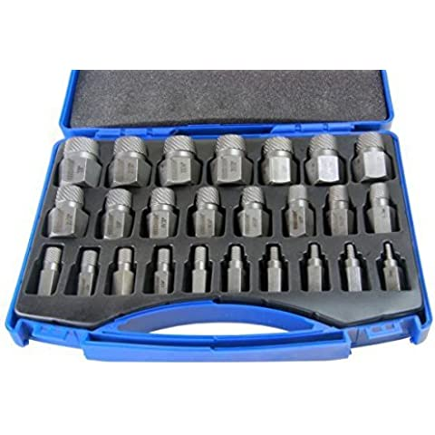 BERGEN set vite estrattore Set multi-spline 1/8